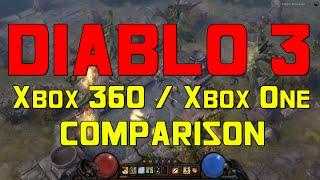 Diablo 3: Xbox 360 - Xbox One Gameplay Comparison