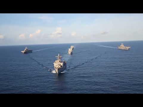 U.S. Navy Ships in the Caribbean
