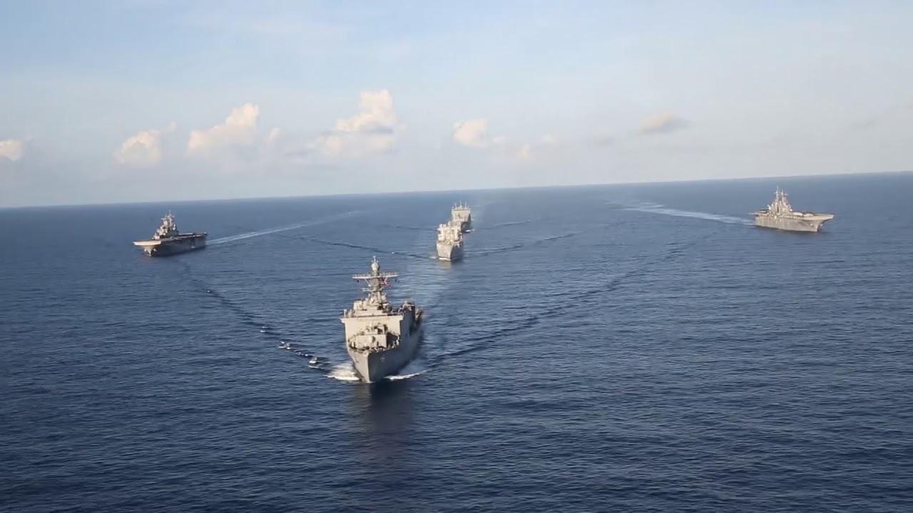U S  Navy Ships in the Caribbean