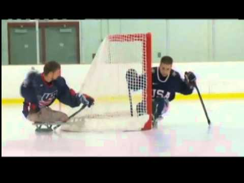 TEAM USA Sled Hockey Takes On Canada This Weekend