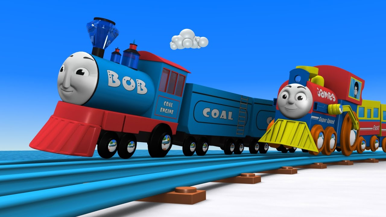 Download Bob the Train for kids - Toy Factory- Toy Train JCB