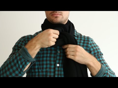 Ways To Tie Scarf Mens Style Tips