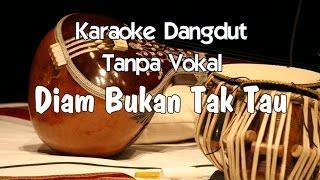 Video Karaoke Diam Bukan Tak tau ( Dangdut ) download MP3, 3GP, MP4, WEBM, AVI, FLV Juli 2018