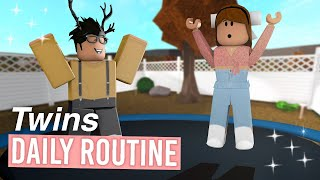 Mom & Twins Daily Routine | Roblox Bloxburg Roleplay | alixia