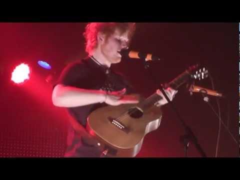 Ed Sheeran - Be My Husband, Nina Simone Cover (live @ DOCKS In Hamburg, 06.03.12) HD