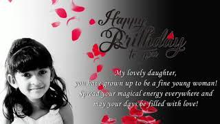 Sare jaha ki khushi ho teri - birthday song dedicate to JANKI