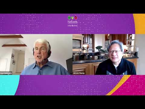 Celebrating 40 years of Ethernet! – from 2.94 Mbps to 800 Gbps .. with Bob Metcalfe & Jensen Huang
