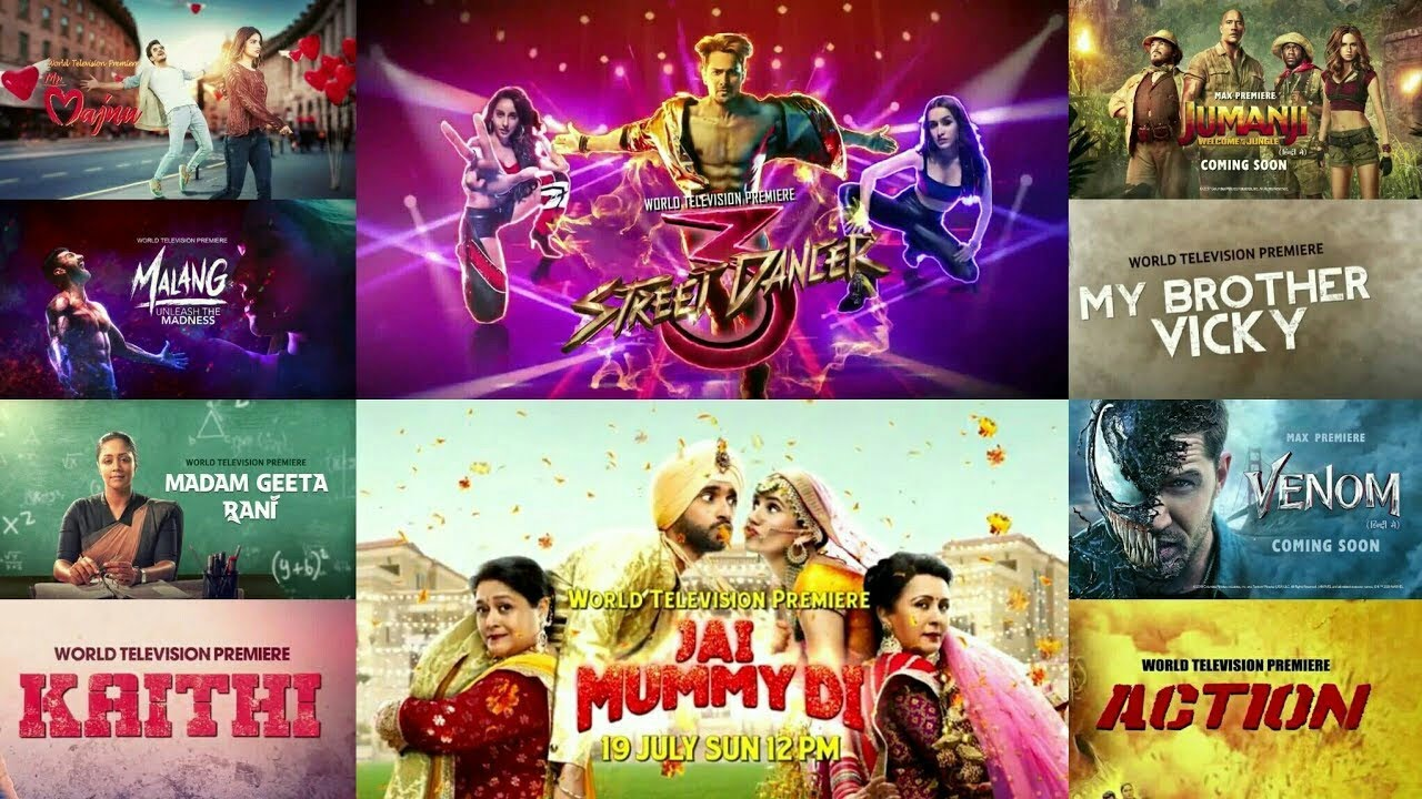 World Tv Premiere Street Dancer 3d Jai Mummy Di Malang Unleash The Madness 26th July 12pm Sony Max Youtube