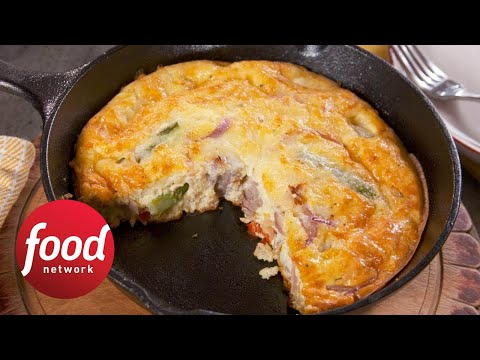 How to Make Nancy Fuller's Kitchen Sink Frittata | Food Network