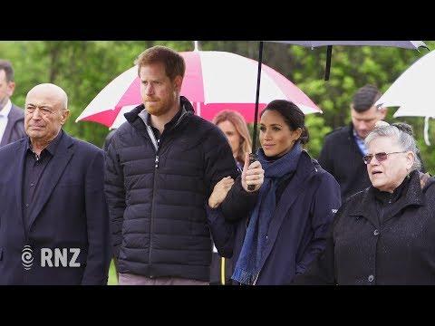 Harry & Meghan visit Abel Tasman National Park