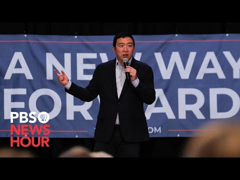 WATCH: Andrew Yang Suspends 2020 Presidential Campaign