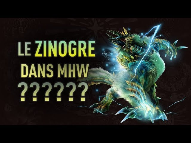 Le Zinogre bientôt dans Monster Hunter World ?