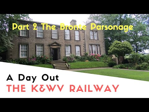 a-great-day-out-on-the-k&wv-railway-part-2-|the-bronte-parsonage-|-poppy-and-tara's-august-tour-2019