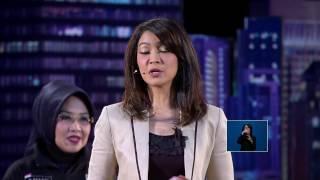 Aksi Ira Koesno Sebagai Moderator dalam Debat Perdana Cagub DKI Jakarta