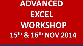 Success Stories - Advanced Excel Workshop - GLORIOUS MINDMINE