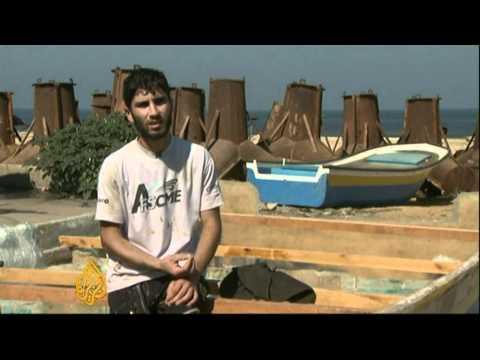 Gaza shipbuilders adapt to blockade