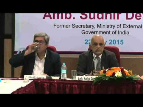 Pune International Centre: Lecture by Amb. Sudhir Devare 'Art & Science of Policy Making' (Part 4)