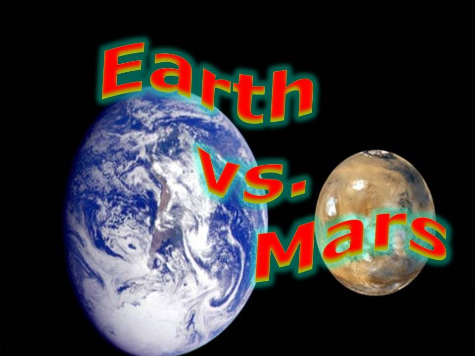 comparing mars and earth The answers are: 1) comparing mars and venus to the earth, which of the following statements is correct c the earth has a greater bulk density than venus and mars.