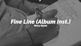 해리 스타일스 Fine Line 앨범 전곡 (Official Instrumentals)