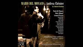 Mario del monaco andrea chenier live 1954 metropolitan audio hq raro!
