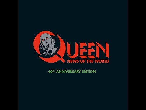 Queen: News Of The World 40th Anniversary Unboxing