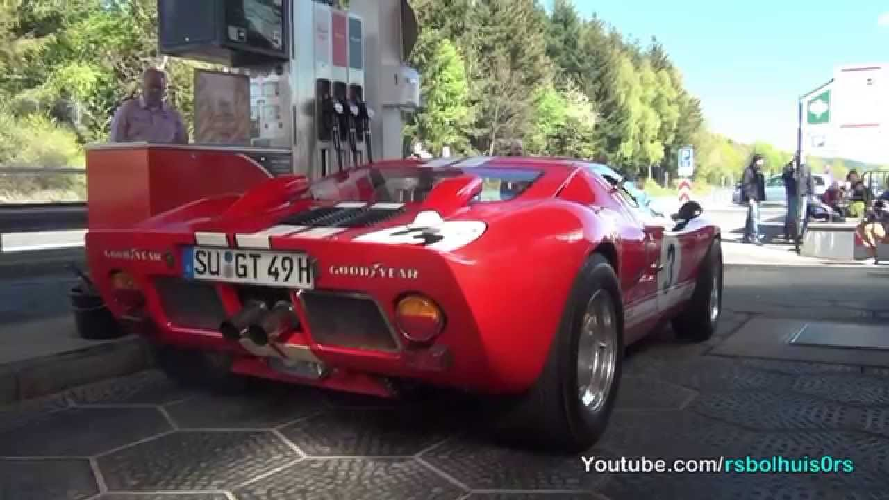 Ford Gt  Loud Acceleration