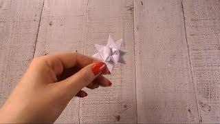 Jak zrobić ŚWIĄTECZNĄ  GWIAZDKĘ  Z PAPIERU? Szybki i prosty tutorial DIY!