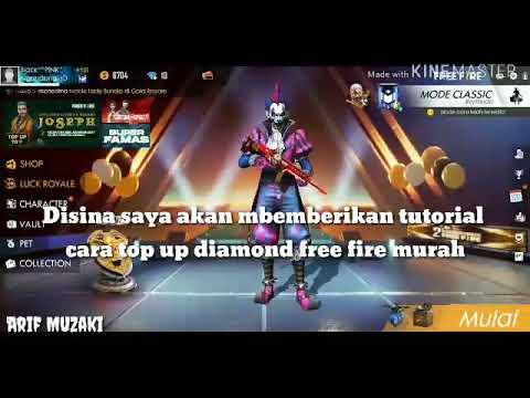 Top up diamond free fire murah