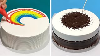 5+ Awesome Cake Decorating Tutorials as Professional for Holiday | Most Satisfying Chocolate Cake