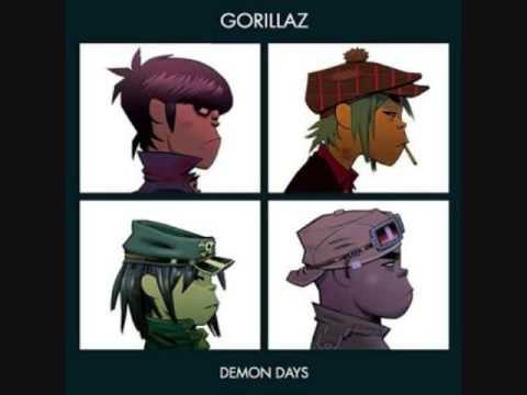 Gorillaz  10 All Alone + LYRICS