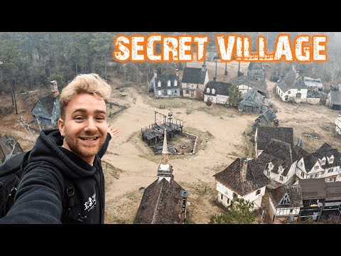Exploring An Apocalyptic Village - Abandoned Movie Set
