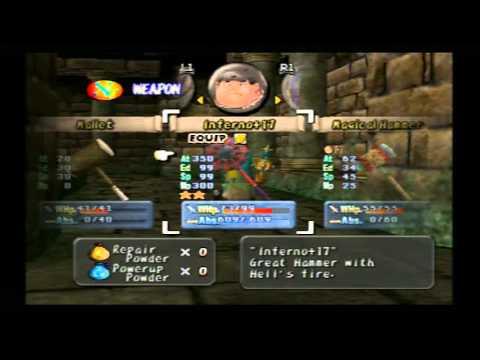 Dark Cloud - Demon Shaft Final Boss