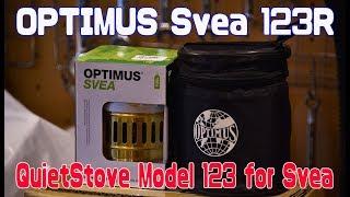 Quietstove pour Svea 123