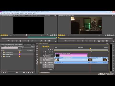 Creating and Editing Titles