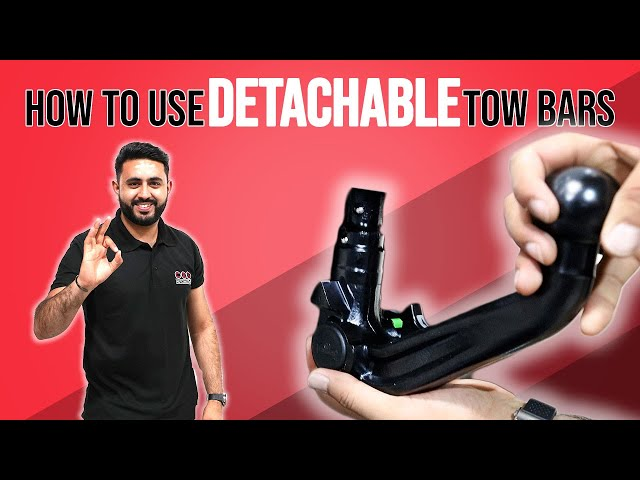 How To Remove And Refit A Detachable Tow Bar - Beginner's Guide