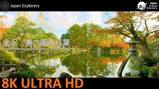 金沢の兼六園の紅葉の動画です。 少し早かったのか、すべてが色づいてい...