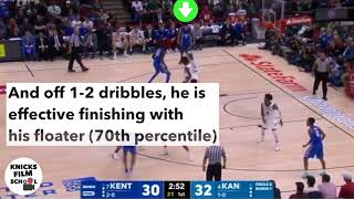 Knicks Film School: Knicks draft Kevin Knox
