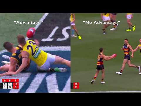 Free Kick Richmond | 2017 AFL Grand Final