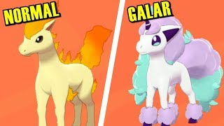 Download Pokémon Sword & Shield - All Galar Forms Comparison Mp3 and Videos