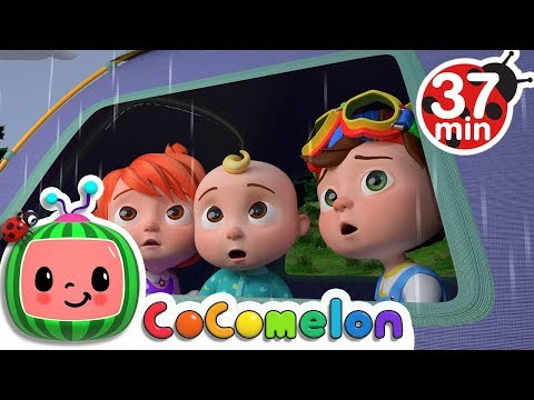 Rain Rain Go Away | +More Nursery Rhymes & Kids Songs - ABCkidTV