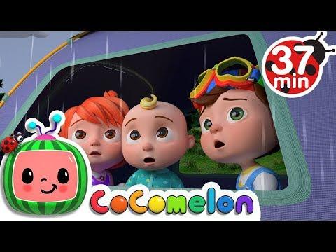 Rain Rain Go Away   +More Nursery Rhymes & Kids Songs - Cocomelon (ABCkidTV) - Как поздравить с Днем Рождения