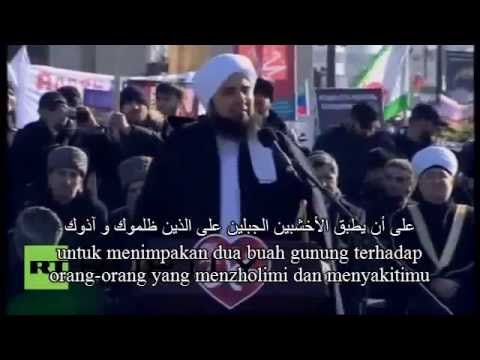 Dakwah Habib Ali Al Jufri Jutaan Orang Chechnya  Menangisss