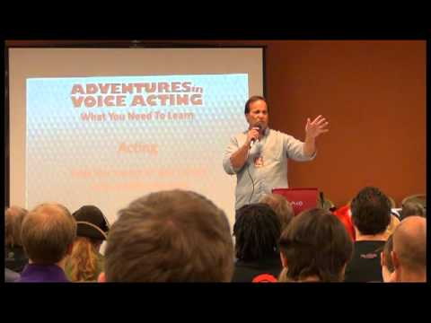 NDK 2011 Tony Oliver Adventures in Voice Acting 1.