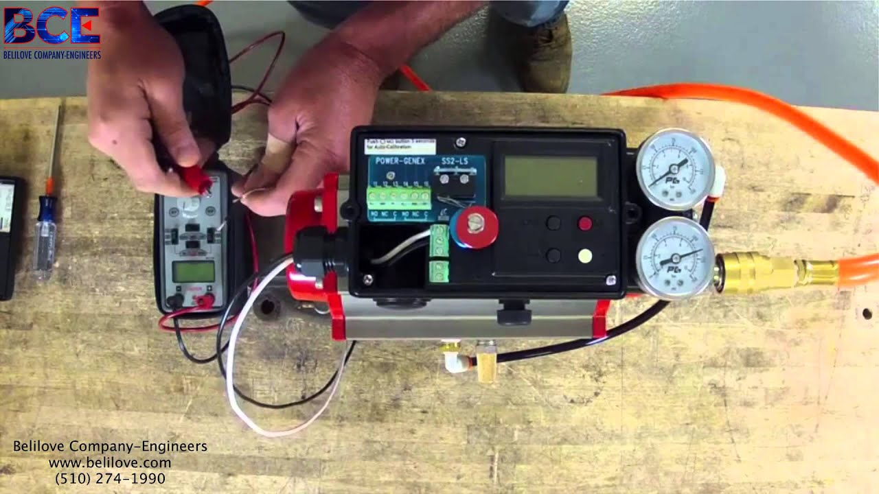 Fisher Control Valve Positioner Dvc 2000 Wiring Diagram How To Calibrate An At Controls Youtube 1920x1080