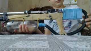 (№1) Как сделать пневматическую винтовку!! (how to make a pneumatic!!)