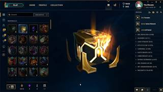 CHEST FROM CHESTS CONTAINING CHESTS!! League of Legends Masterwork Chest opening!