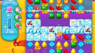 Candy Crush Soda Saga Level 244