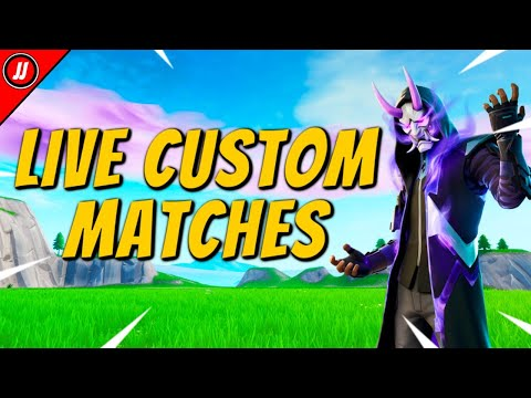 🔴CUSTOM MATCHMAKING🔴EU LIVE SOLO/DUO/SQUAD SCRIMS FORTNITE LIVE CUSTOM GAMES