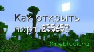 Как открыть порт для сервера Minecraft?