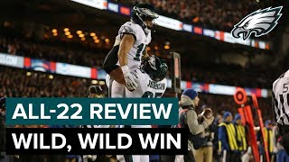 Top Plays From Wild, Wild Win | Philadelphia Eagles All-22 Review